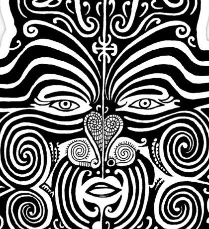 Maori Moko design Sticker