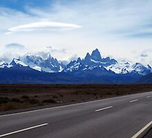 Lenticular Clouds over FitzRoy Range ,  Patagonia by geophotographic