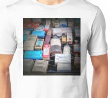 Medicine Cabinet Items - Ouray Museum Unisex T-Shirt