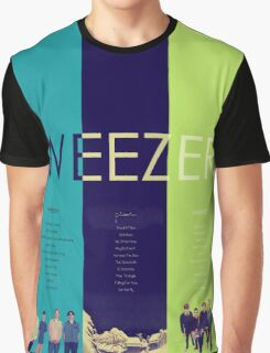 Blue To Green: Weezer's First 3 Albums Graphic T-Shirt