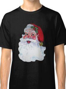 Vintage Style Jolly Santa  Classic T-Shirt
