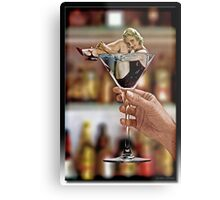 The Drink Dreams Are Made Of Metal Print