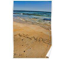 Adelaide Beaches Poster