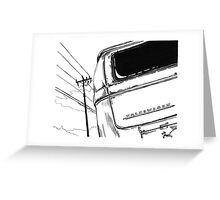 Bay Bus...........from drawing that i did Greeting Card