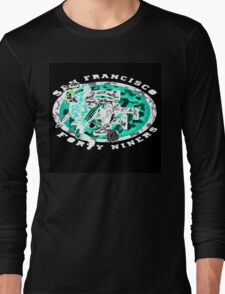 49ERS BLACK Long Sleeve T-Shirt