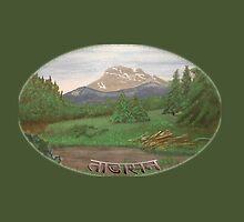 Tadasana - Mountain Pose by BSherdahl