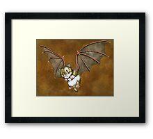 Beware the vampire hamster Framed Print
