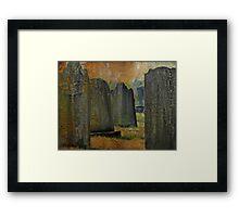Tombstone Territory Framed Print
