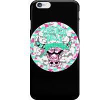BULLS BLACK iPhone Case/Skin