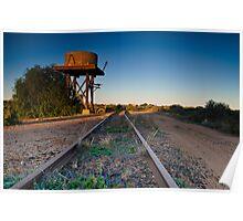 Silverton Watertower Poster