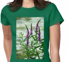 Wildflower Beauty Womens Fitted T-Shirt