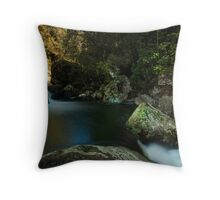 Kaiate lower pools Throw Pillow