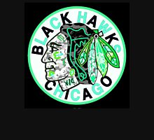 BLACKHAWKS BLACK Long Sleeve T-Shirt