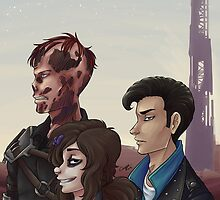 Wasteland Rascals by CorpseFace