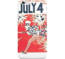 4th of July - Uncle Sam iPhone Case/Skin