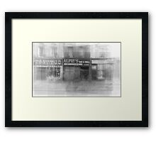 Alfie's Bar and Grill Toronto Framed Print