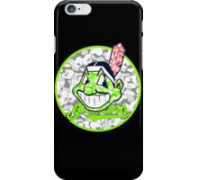 INDIANS BLACK iPhone Case/Skin