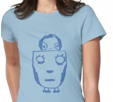 big mask Womens Fitted T-Shirt