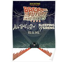 ALL TIME LOW SWS SLEEPING WITH SIRENS Future Hearts Tour REY1 Poster
