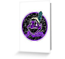 INDIANS INVERT Greeting Card