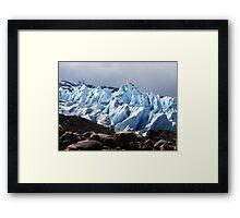 Viedma Glacier Framed Print