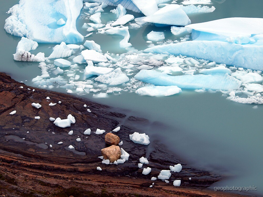 Glaciar Perito Moreno meltwater , Patagonia Argentina  by geophotographic