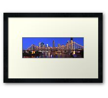 Story Bridge, Brisbane, Queensland, Australia Framed Print