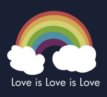 Love is Love is Love- Rainbow by imbusymycroft