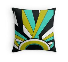 Art Deco 1 by Anne Winkler Throw Pillow