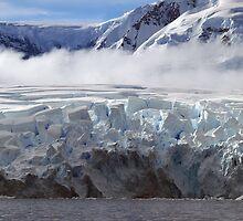 Wilhelmina bay,  Antarctic Peninsula by geophotographic