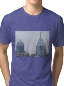 Philadelphia Skyscrapers, Philadelphia, Pennsylvania Tri-blend T-Shirt