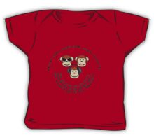 """The Yorkshire Proverb """"Hear All, See all Say Nowt"""" Baby Tee"""