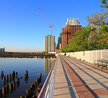 Promenade On The Hudson Rv. by pmarella
