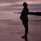 Pregnant Silhouette by michellerena