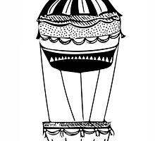Hot air balloon by JasmineDickson