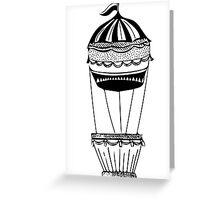 Hot air balloon Greeting Card