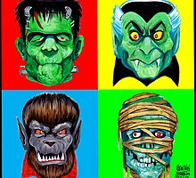 4Monsters by Ben  Strawn