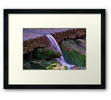 """The Last Fall"" Framed Print"