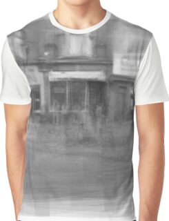 Angst downtown Toronto streetscape Graphic T-Shirt