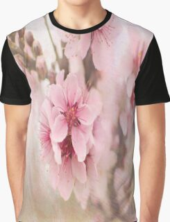 Textured Bloom Graphic T-Shirt
