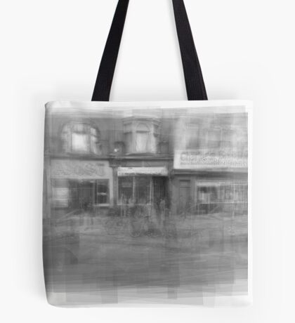 Angst downtown Toronto streetscape Tote Bag