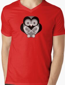 OWL 3 Mens V-Neck T-Shirt