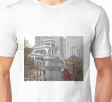 Love Sculpture, Classic Philadelphia City Hall, Philadelphia, Pennsylvania  Unisex T-Shirt