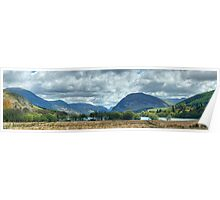 Loweswater And The Surrounding Fells Poster