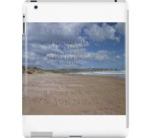 Be a voice hearer iPad Case/Skin