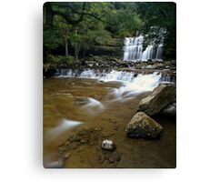"""Liffey Falls"" ∞ Liffey, Tasmania - Australia Canvas Print"