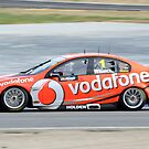 Team Vodafone - Jamie Whincup by Daniel Carr
