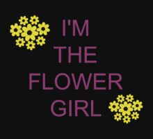 I'm the flower girl One Piece - Short Sleeve