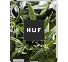 HUF (best quality logo) iPad Case/Skin