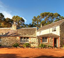 The Old Farmhouse (1836), Albany, Western Australia #2 by Elaine Teague